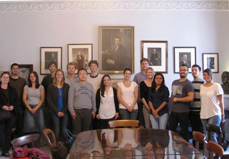 PhD students from LMU, Germany visiting CSM and CSND